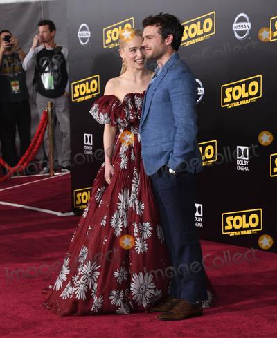 Alden Ehrenreich Photo - 10 May 2018 - Hollywood California - Emilia Clarke Alden Ehrenreich Solo A Star Wars Story Los Angeles Premiere held at Dolby Theater Photo Credit Birdie ThompsonAdMedia