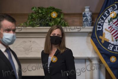 Photo - Amy Coney Barrett Capitol Hill Courtesy Call Todd Young