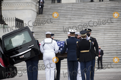 Photo - Associate Justice Ruth Bader Ginsburg  Lies in State in the US Capitol