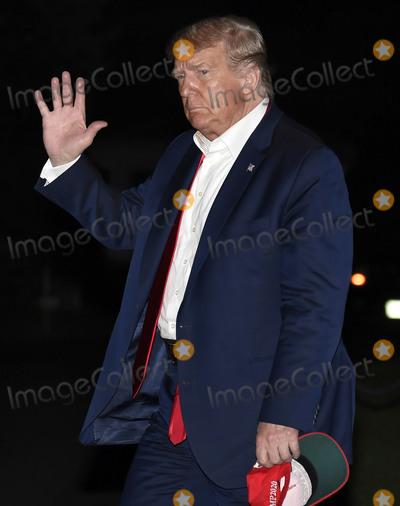 Photos From Trump Returns from Tulsa, Oklahoma