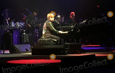 Photos From Elton John Performs at Cross Arena