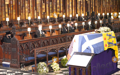 Princess Royal Photo - Photo Must Be Credited Alpha Press 073074 17042021Queen Elizabeth II Prince Andrew Duke of York Princess Anne Princess Royal Vice-Admiral Sir Timothy Tim Laurence Prince Harry Duke of Sussex Duke of Gloucester and Duke of Kent during the funeral of Prince Philip Duke of Edinburgh at St Georges Chapel in Windsor Castle in Windsor Berkshire No UK Rights Until 28 Days from Picture Shot Date AdMedia
