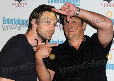 Photo - 23 July 2011 - San Diego California - Joel McHale and and Nathan Fillion 5th Annual Entertainment Weekly Comic-Con Party held at The Hard Rock Cafe Photo Credit Byron PurvisAdMedia