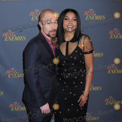 Photos From Sam Rockwell and Taraji P. Henson at 'The Best of Enemies' New York Photo Call