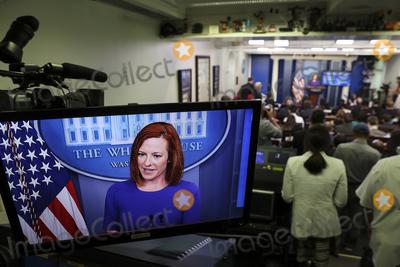 Photos From Press Secretary Jen Psaki At Daily Briefing