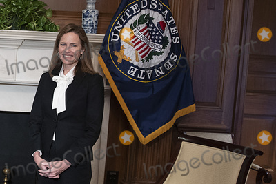 Photos From Amy Coney Barrett Capitol Hill Courtesy Call Josh Hawley