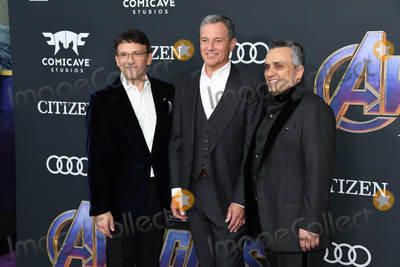 Anthony Russo Photo - 22 April 2019 - Los Angeles California - Anthony Russo Bob Iger Joe Russo Marvel Studios Avengers Endgame Los Angeles Premiere held at Los Angeles Convention Center Photo Credit Birdie ThompsonAdMedia