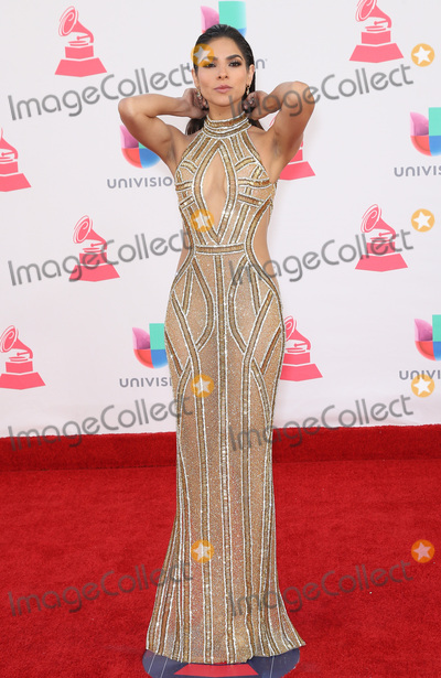 Alejandra Espinoza Photo - 17 November 2016 - Las Vegas NV - Alejandra Espinoza  2016 Latin Grammy arrivals at T-Mobile Arena  Photo Credit MJTAdMedia