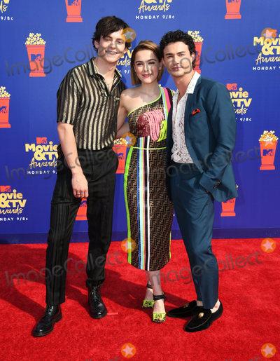 Photo - 15 June 2019 - Santa Monica California - Ross Lynch Kiernan Shipka Gavin Leatherwood 2019 MTC Movie and TV Awards held at Barker Hangar Photo Credit Birdie ThompsonAdMedia