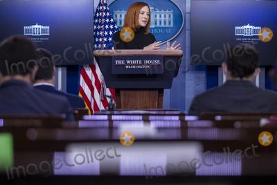 Photos From Daily press briefing by White House Press Secretery Jen Psaki