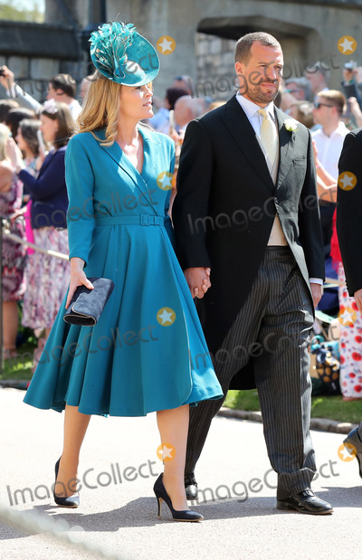 Peter Phillips Photo - 19 May 2018 - Peter Phillips and Autumn Phillips Guests arrive at Windsor Castle for the wedding of Meghan Markle and Prince Harry Photo Credit ALPRAdMedia