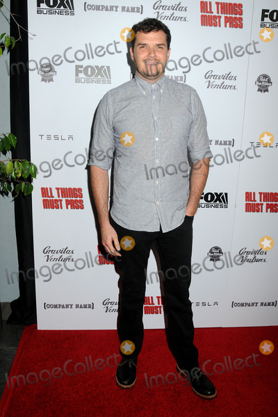 Bridger Nielson Photo - 15 October 2015 - Los Angeles California - Bridger Nielson All Things Must Pass The Rise and Fall of Tower Records Los Angeles Premiere held at the Harmony Gold Theatre Photo Credit Byron PurvisAdMedia