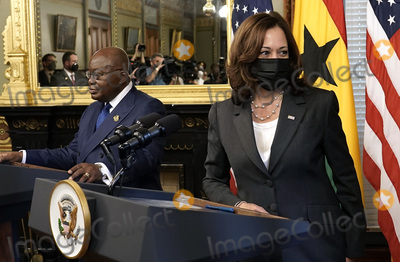 Photos From Kamala Harris with President of Ghana - Washington