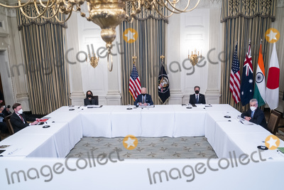 Photos From Biden, Harris, Blinken meet with members of the Quad from the White House