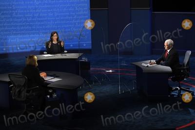 Photo - Vice Presidential Debate between Republican Nominee Vice President Mike Pence and Democratic Nominee Sen Kamala Harris