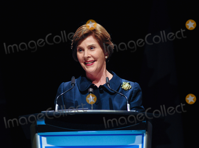 Photos From Laura Bush wishes Trumps 'the very best'