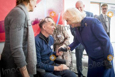 Photos From Camilla Duchess of Cornwall Visits Maggies at The Royal Marsden