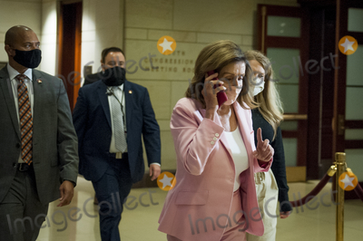 Photo - Arrivals for a Classified Briefing on Election Securiity for Members of Congress