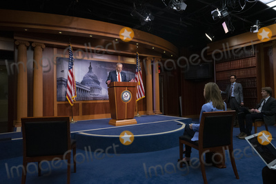Photos From United States Senate Minority Leader Chuck Schumer (Democrat of New York) Press Conference