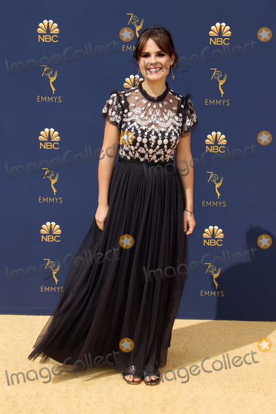 Amy Hoggart Photo - 17 September 2018 - Los Angles California - Amy Hoggart 70th Primetime Emmy Awards held at Microsoft Theater LA LIVE Photo Credit Faye SadouAdMedia
