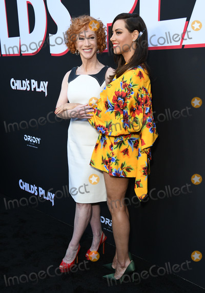 Photo - 19 June 2019 - Hollywood California - Kathy Griffin Aubrey Plaza Childs Play Los Angeles Premiere Los Angeles Premiere held at the Arclight Hollywood Photo Credit Birdie ThompsonAdMedia