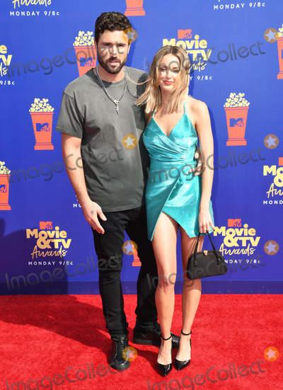 Photo - 15 June 2019 - Santa Monica California - Kaitlynn Jenner Brody Jenner 2019 MTV Movie and TV Awards held at Barker Hangar Photo Credit Birdie ThompsonAdMedia