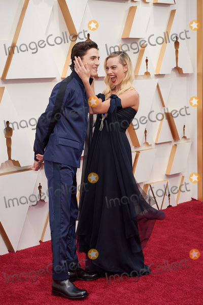 Margot Robbie Photo - 09 February 2020 - Hollywood California - Timothee Chalamet Margot Robbie 92nd Annual Academy Awards presented by the Academy of Motion Picture Arts and Sciences held at Hollywood  Highland Center Photo Credit AMPASAdMedia