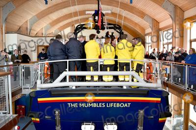 Photos From Royal Visit RNLI Mumbles Lifeboat Station