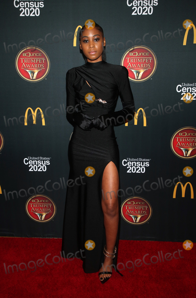 Alexis Sailes Photo - 4 December 2019 - Hollywood California - Alexis Sailes the 28th Annual Bounce Trumpet Awards held at Dolby Theatre Photo Credit FSAdMedia