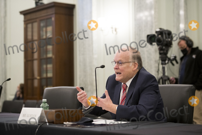 Photo - National Grain and Feed Association President and Chief Executive Officer Randy Gordon appears before the second panel of a Senate Committee on Commerce Science and Transportation hearing to examine passenger and freight rail focusing on the current status of the rail network and the track ahead in the Russell Senate Office Building on Capitol Hill in Washington DC Wednesday October 21 2020 Credit Rod Lamkey  CNPAdMedia