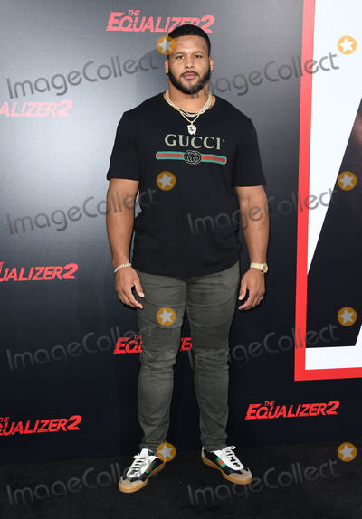 Aaron Donald Photo - 17 July 2018 - Hollywood  California - Aaron Donald The Equalizer 2 Los Angeles Premiere held at the TCL Chinese Theatre Photo Credit Birdie ThompsonAdMedia
