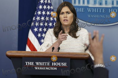 Photos From White House Daily Press Breifing