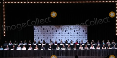 Photo - 2011 Miss America Pageant Press Conference with Co-Hosts Brooke Burke and Chris Harrison and the largest gathering of former Miss Americas ever