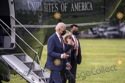 Photo - US President Joe Biden returns to the White House