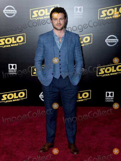 Alden Ehrenreich Photo - 10 May 2018 - Hollywood California - Alden Ehrenreich Solo A Star Wars Story Los Angeles Premiere held at Dolby Theater Photo Credit Birdie ThompsonAdMedia