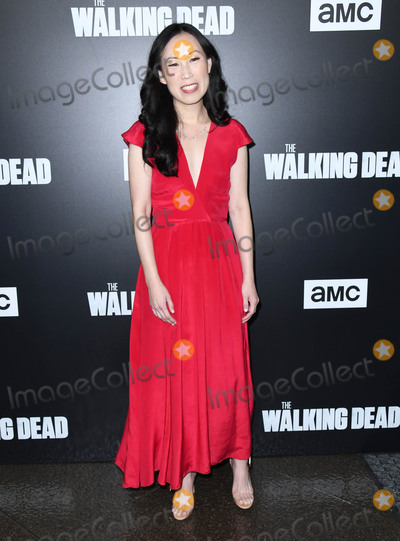 Angela Kang Photo - 27 September 2018 - Hollywood California - Angela Kang The Walking Dead Season 9 Premiere Los Angeles  held at DGA Theater Photo Credit Birdie ThompsonAdMedia