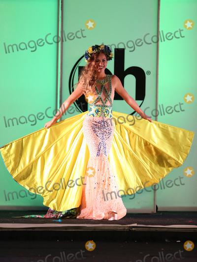 Photo - 18 November 2017 - Las Vegas NV -  Miss Ukraine Yana Krasnikova  66th Miss Universe Pageant National Costume Show at Planet Hollywood resort Hotel and Casino Photo Credit MJTAdMedia