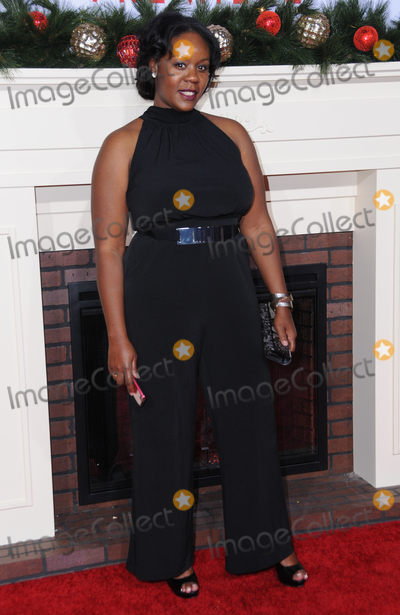 Adrene Ward-Hammond Photo - 03 November 2016 - Westwood California Adrene Ward-Hammond Premiere Of Universals Almost Christmas held at Regency Village Theatre Photo Credit Birdie ThompsonAdMedia