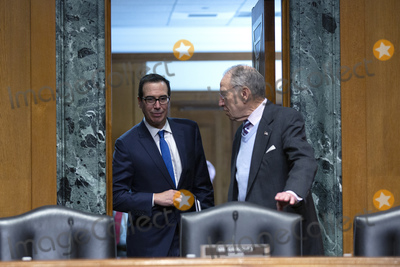 Photos From United States Secretary of the Treasury Steven T. Mnuchin Testifies on Capitol Hill