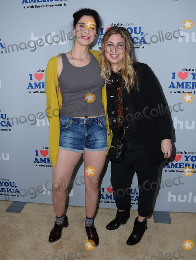 Amy Zvi Photo - 11 October  2017 - Hollywood California - Sarah Silverman Amy Zvi Premiere of Hulus I Love You America with Sarah Silverman held at Chateau Marmont in Hollywood Photo Credit Birdie ThompsonAdMedia