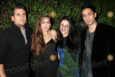 Anna Chonacas Photo - Time Chonacas and Katie Chonacas with Anna Chonacas and Dave Loperaat the Katie Chonacas music video debut party Les Deux Hollywood CA 02-21-09