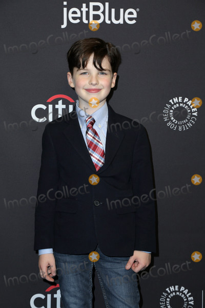 Photo - Iain Armitageat the 2018 PaleyFest Los Angeles - Big Bang Theory Young Sheldon Dolby Theater Hollywood CA 03-21-18