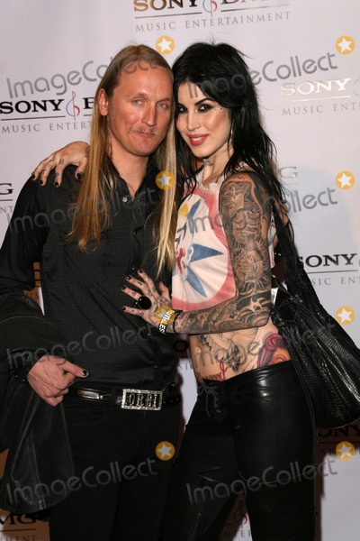Orbi Orbison Photo - Alec Orbi Orbison and Kat Von D at the 2008 Sony BMG Music Grammy Awards After Party The Beverly Hilton Hotel Beverly Hills CA 02-10-08