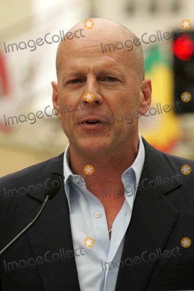 Photo - Bruce Willis Hollywood Walk of Fame Ceremony