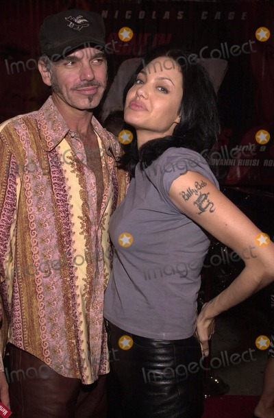 Photo -  Billy Bob Thornton and Angelina Jolie at the post premiere party for Touchstones GONE IN 60 SECONDS at the Peterson Automotive Museum Los Angeles 06-05-00
