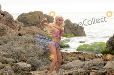 Photo - Frenchy Morgan Bikini Hula Hooping