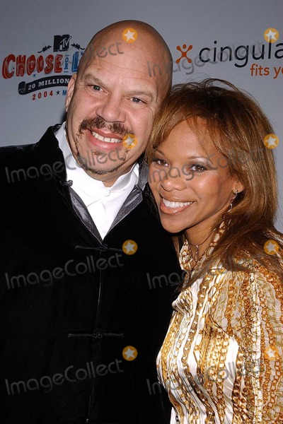 Donna Richardson Photo - Tom Joyner and Donna Richardson at the Rock The Vote Awards Hollywood Palladium Hollywood CA 02-07-04