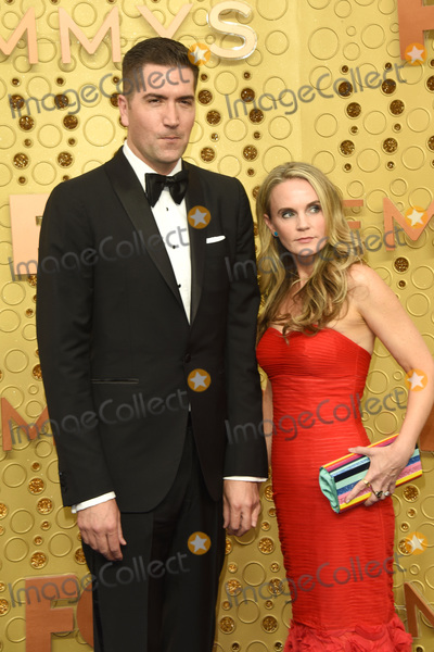 Caroline Williams Photo - LOS ANGELES - SEP 22  Drew Goddard Caroline Williams at the Primetime Emmy Awards - Arrivals at the Microsoft Theater on September 22 2019 in Los Angeles CA