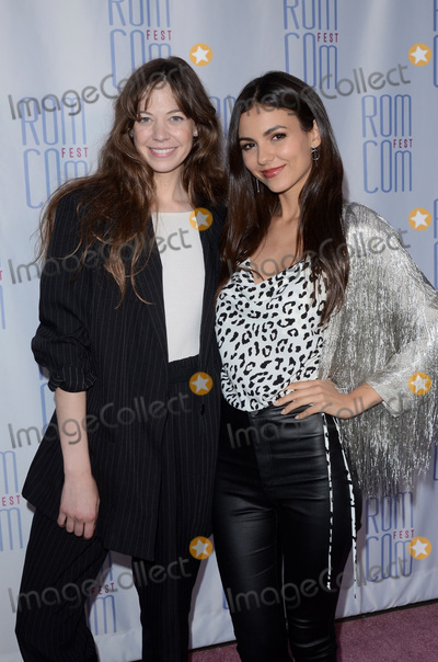 Analeigh Tipton Photo - LOS ANGELES - JUN 21  Analeigh Tipton Victoria Justice at the Summer Night Screening at Rom Com Fest 2019 at the Downtown Independent Theater on June 21 2019 in Los Angeles CA