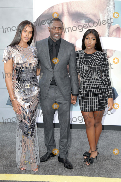 Photo - LOS ANGELES - JUL 13  Sabrina Dhowre Elba1055 Idris Elba Isan  at the Fast  Furious Presents Hobbs  Shaw Premiere at the Dolby Theater on July 13 2019 in Los Angeles CA